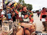 Jamás me imaginé estar en una posición tan privilegiada en una carrera tan extrema como el Dakar