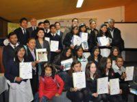 Reconocimientos a ganadores de Programas Juveniles 2015