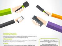Afiche Periodista por un día 2015