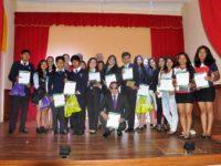 Estudiantes finalistas fueron reconocidos